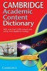 Cambridge Academic Content Dictionary with CD-ROM / Cambridge, 2010