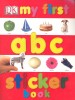 DK My First ABC Sticker Book / Dorling Kindersley, 2010