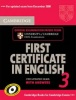 Cambridge First Certificate in English 3 for Updated Exam Self-study Pack (Student's Book with Answers and Audio CDs) / Cambridge, 2009