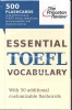ESSENTIAL TOEFL VOCABULARY / Princeton Review, 2011