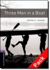 JEROME, JEROME K. - MOWAT, DIANE : Three Men in a Boat Audio CD Pack - Stage 4 / OUP Oxford, 2007