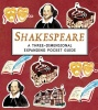 COSFORD, NINA : Shakespeare: A Three-Dimensional Expanding Pocket Guide / Walker, 2014