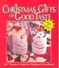 Christmas Gifts of Good Taste / Leisure Arts, 2000