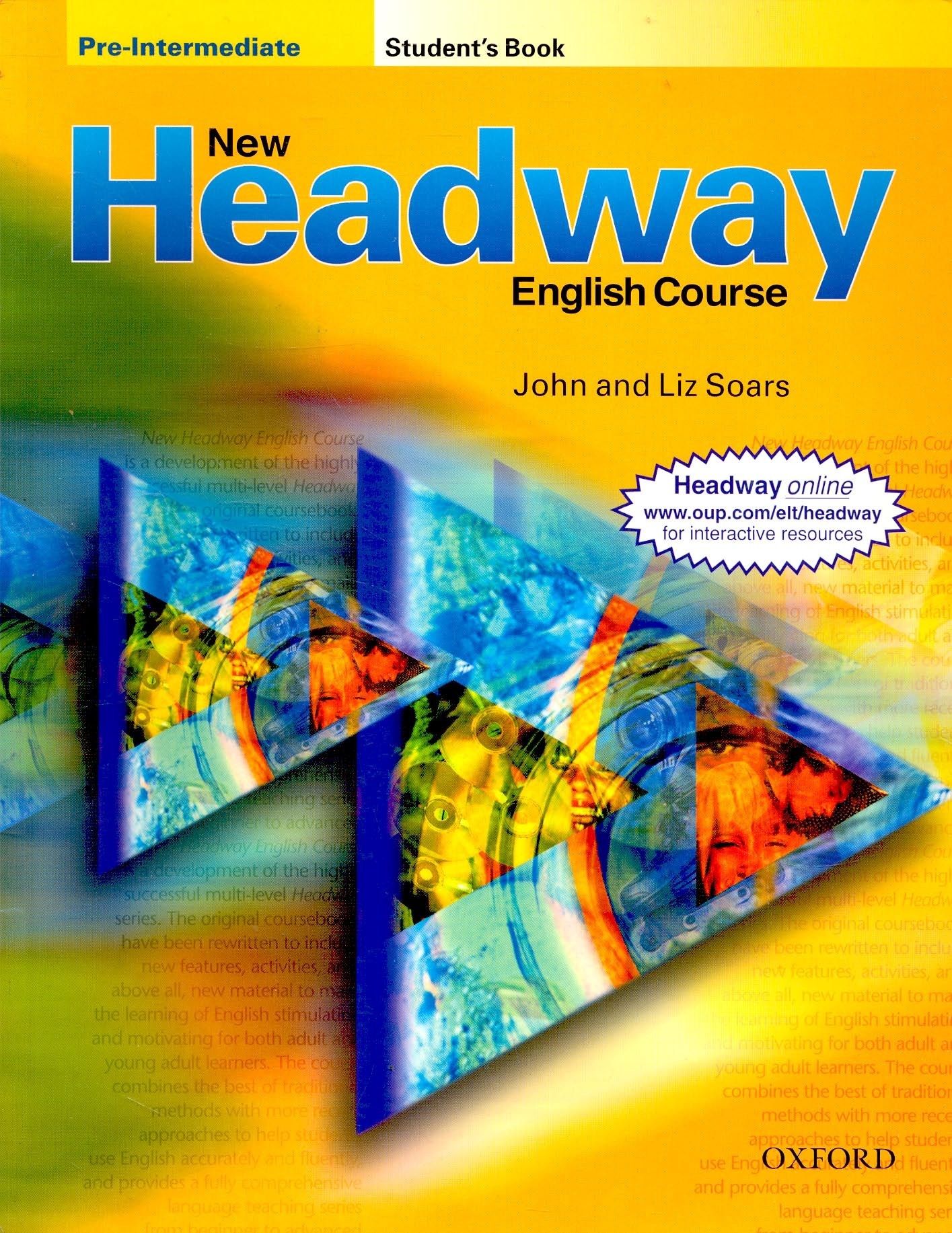 new headway pre-intermediate students book скачать